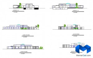 پلان مهدکودک به همراه تصاویر سه بعدی - (www.memarcad.com) (4)