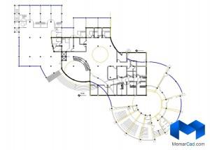 پلان مهدکودک به همراه تصاویر سه بعدی - (www.memarcad.com) (5)