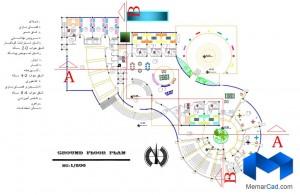 پلان مهدکودک به همراه تصاویر سه بعدی - (www.memarcad.com) (6)