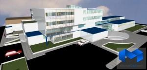 دانلود پلان بیمارستان قلب به همراه تصاویر سه بعدی - (www.memarcad.com) (3)