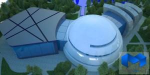 دانلود پلان مرکزهنرهای نمایشی با تصاویر سه بعدی - (www.memarcad.com) (2)