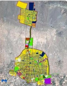 استاندارهای برنامه ریزی کاربری اراضی شهری(memarcad.com)